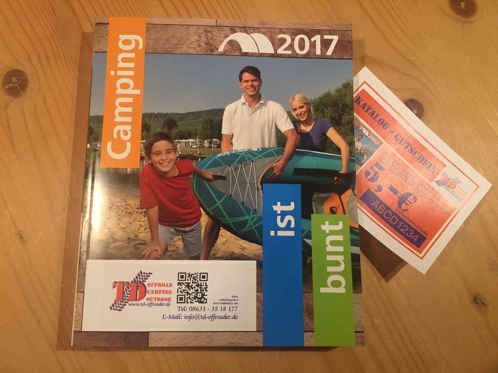 Outdoorküche Camping World : Katalog camping ist bunt 2017 td offroader